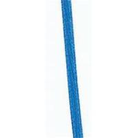 1m Satinband 3mm azurblau