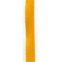 1m Satinband 6mm gelb