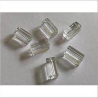 6 Glasperlen Rechtecke