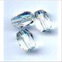 6 Glasschliff Oliven