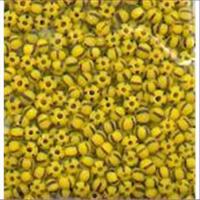 17gr.  Rocailles schwarz-gelb