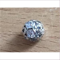 1 Strass-Ringperle
