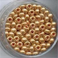 20gr.  Rocailles metallic gold