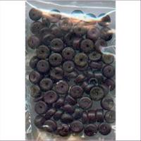 1 Beutel Holzperlen 2-6mm