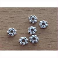 6 Metall-Zwischenteile