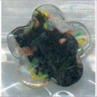 1 Glasperle Blumenform