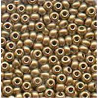 18gr.  Rocailles matt goldfarbig