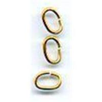 10 Zwischenringe oval