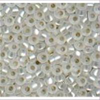 20gr.  Rocailles matt kristall