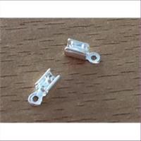 2 Endteile zum Quetschen 3mm