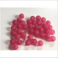 60 Acrylperlen matt fuchsia pink 4mm