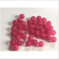 70 Acrylperlen matt fuchsia pink 3mm