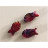 1 Glasperle Fisch