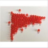 70 Acrylperlen rot 3mm