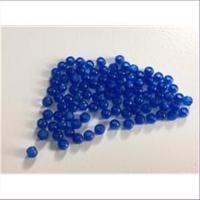 70 Acrylperlen blau 3mm