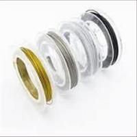 100meter Basteldraht ES-Draht 0,50mm  gold