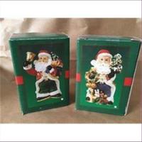 2er Set Dekofigur Santa