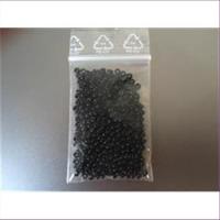 10gr. Rocailles schwarz 3mm