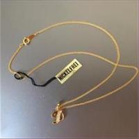 1 Halskette mit Anhänger Buchstabe