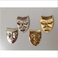 1 Maske aus Metall Pressung