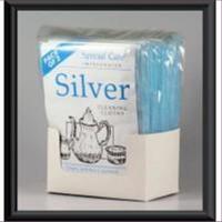 2er Set Schmuckpflegetuch Silberputztuch mit Anlaufschutz