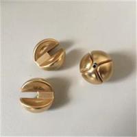 2 Doppelperlen (4tlg.) gold 18mm