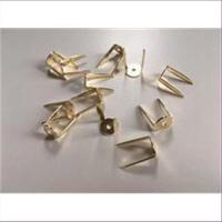 10 Splinten goldfarbig