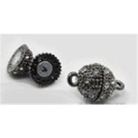 1 Magnetverschluss 16x10mm gunmetall