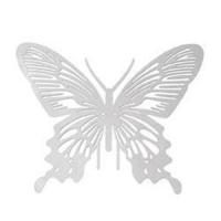 1 Schmetterling Pressung Anhänger Edelstahl