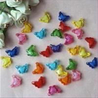 1 Schmetterling Acryl bunte Farben