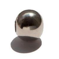 20 Hohlkugeln Metallkugeln 6mm silber