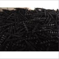 10 Drahtperlen schwarz