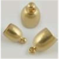 2 Endkappen Glockenform 6,5mm