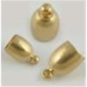 2 Endkappen Glockenform 12,5mm