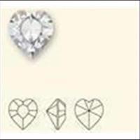 1 Similistein Swarovskistein Herz 8,8x8,0 cristall