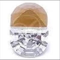 1 Similistein Swarovskistein Halbrund 8x6mm