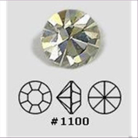 100 Similisteine PP9  1,6mm