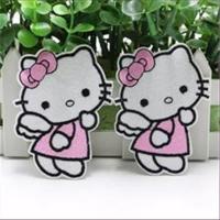 1 Aufnähmotiv Hello Kitty 8x6cm