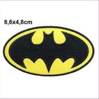1 Aufnähmotiv Batman 8,6x4,8cm