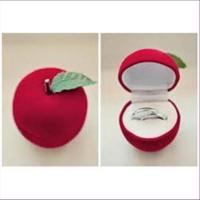 1 Geschenkbox Ringbox Apfel