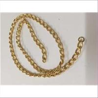 45cm Kettenstück gold