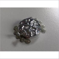 1 Steckverschluss Kastenschließe silberfarbig