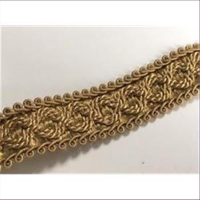 1m Brokatborte gold breit