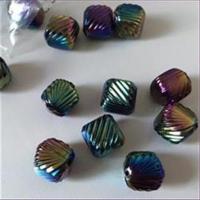 1 Acrylperle Acrylwürfel multicolor