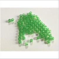 70 Acrylperlen hellgrün 3mm