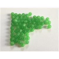 60 Acrylperlen matt hellgrün 4mm