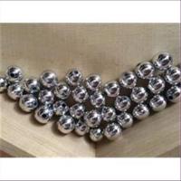 45 Acrylperlen 10mm silber