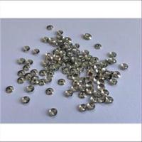 200 Plättchen Perlenkappen gewölbt