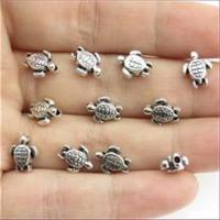 5 Fädelperlen Beads Schildkröte