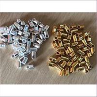 50 Endkappen für Bänder 4mm